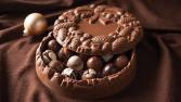 Chocolate Truffle Wreath Debrand Fine Chocolates
