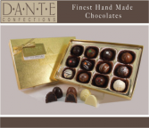 Chocolate Truffles Gift Box – 12 Truffles Chocolates