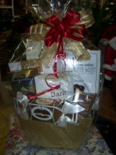 Chocolate's and More Gift Basket Choc Gift Basket