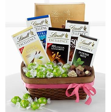 Basket of Chocolates $65.95, $75.95, $85.95