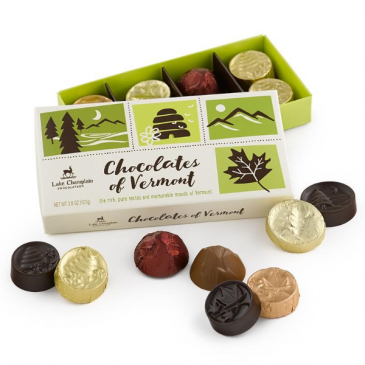 Chocolates of Vermont Gift Box Assortment Chocolate