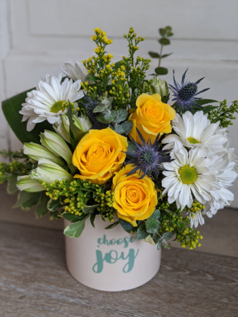 Choose Joy Fresh Arrangement