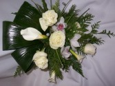 CHRYSTAL WHITE - Wedding Bouquets
