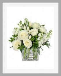 White Whisper Vase