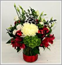 Sleigh Ride Vase