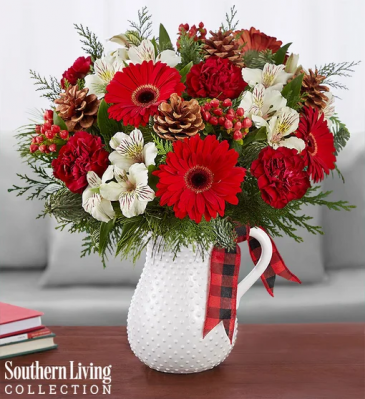 Holiday Tidings Christmas arrangement