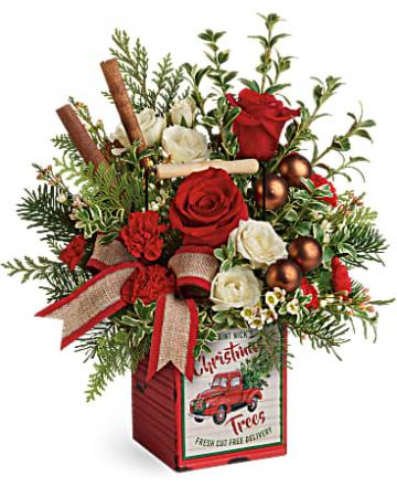 Merry Vintage Christmas Christmas arrangement