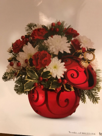 CHRISTMAS BALL ARRANGEMENT CHRISTMAS ARRANGEMENT