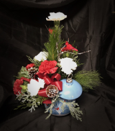 Christmas Ball Designer's Choice Christmas Arrangement