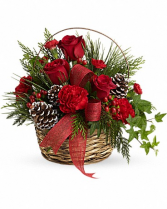 Christmas Basket Cheer fresh