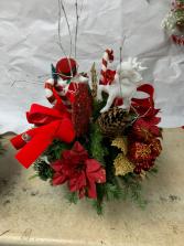 CHRISTMAS BASKET GIFT 002 CHRISTMAS