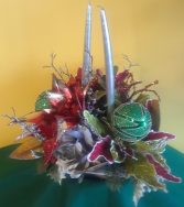 Silk Christmas Bells Arrangement