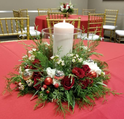 Christmas Blessings Centerpiece In Valparaiso Fl Flowers From