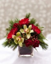 Christmas Blooms Arrangement