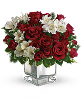 Christmas Blush Bouquet