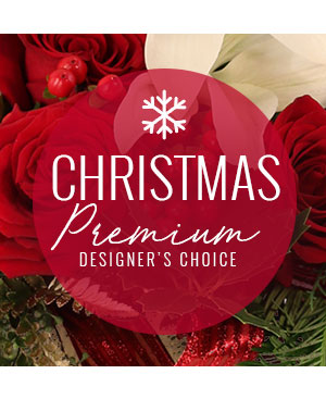 Christmas Bouquet Premium Designer's Choice in Lompoc, CA | BELLA FLORIST AND GIFTS