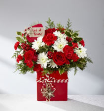 Christmas Box  Holiday Bouquet