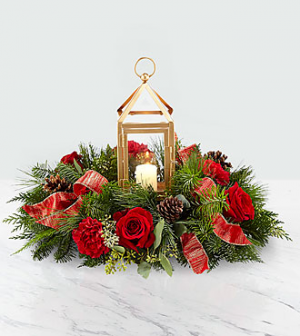 Christmas Bright Centerpiece in Nampa, ID | FLOWERS BY MY MICHELLE