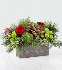 Christmas Cabin Bouquet
