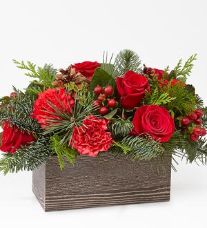 Christmas Cabin Bouquet
