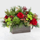 Christmas Cabin Bouquet Christmas Arrangement