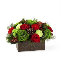 Christmas Cabin Bouquet Christmas Arrangement