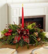 Christmas Calling Centerpiece Centerpiece