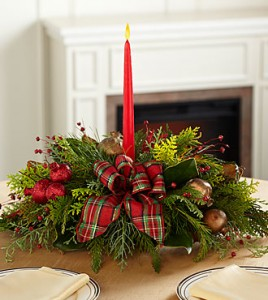 Christmas Callings Holiday Centerpiece