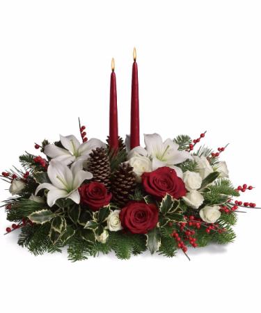 Christmas Candle Centerpeice