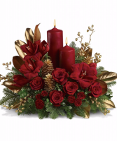 Christmas Candle Light Centerpeice