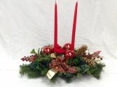 Christmas Cardinal Centerpiece