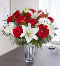 Christmas Celebration 1-800 Flowers Bouquet