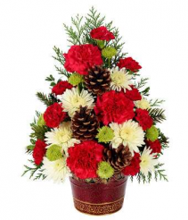 Christmas Celebration Tree Holiday Arrangement