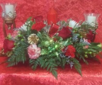 Christmas Center Piece Arrangment