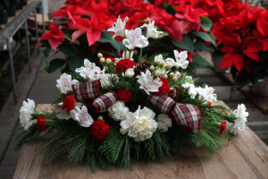 Christmas Centerpeice  in Vincennes, IN | ORGAN FLORIST & GREENHOUSES