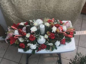 Christmas Centerpiece  in Ashburn, VA | A Country Flower Shop