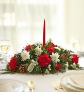 Christmas Centerpiece Christmas Arrangement