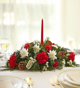 Christmas Centerpiece Christmas Arrangement