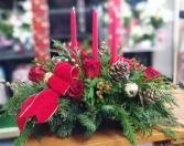 Christmas Centerpiece  Christmas Floral Arrangement