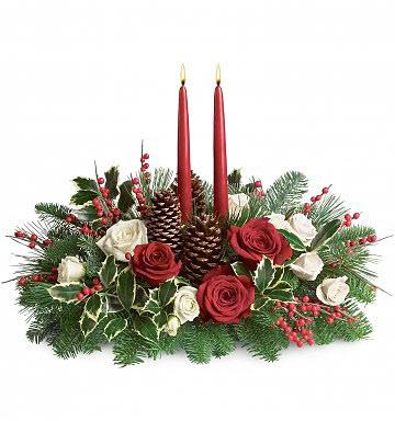 Christmas Centerpiece Arrangement