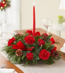 Christmas Centerpiece Christmas in New Palestine, IN | Rose Lady Floral Design