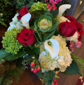 Christmas Cheer Floral Arrangement