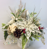 Christmas Cheer Silk Arrangement PERMANENT BOTANICAL