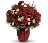 Christmas Cheer Vase Arrangement....Limited Quantities Order Soon