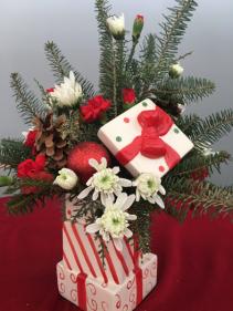 Christmas Christmas centerpiece present