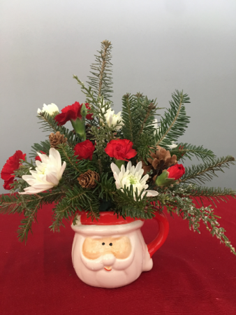 Christmas Christmas Santa arrangment