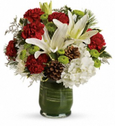 Christmas Collage Bouquet floral arrangement