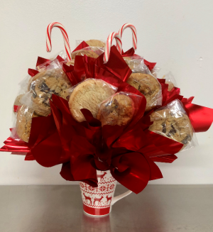 Christmas Cookie Edible Bouquet in Springfield, IL | FLOWERS BY MARY LOU