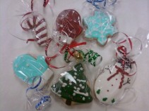 Christmas Cookies by the Dozen (2 Day Advance)  by Holly's Cookie Creations