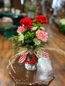 Christmas Cookies  Holiday Vase Arrangement